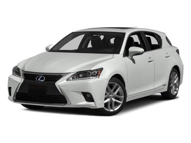 2014 Lexus CT 200h Hybrid Front Wheel Drive Power Steering ABS 4-Wheel Disc Brakes Brake Assist
