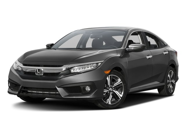 2016 Honda Civic Sedan Touring 4dr CVT Touring Intercooled Turbo Regular Unleaded I-4 1.5 L/91 [5]
