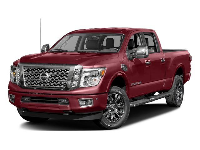 2016 Nissan Titan XD Platinum Reserve Turbocharged Rear Wheel Drive Tow Hitch Power Steering AB