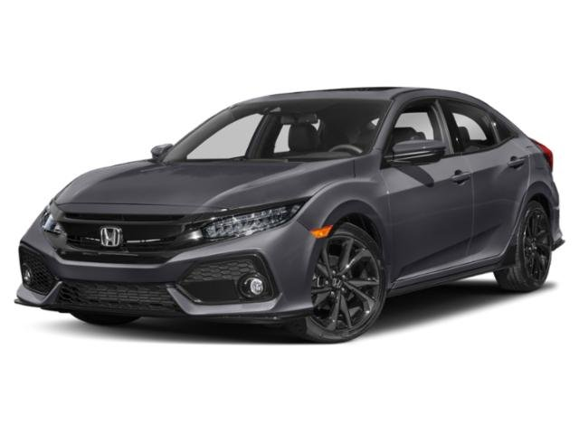 2019 Honda Civic Hatchback Sport Touring Sport Touring CVT Intercooled Turbo Premium Unleaded I-4 1.5 L/91 [0]