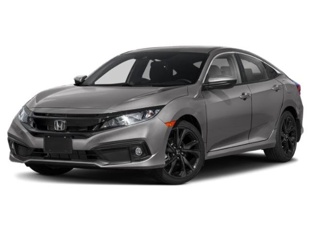 2019 Honda Civic Sedan Sport Sport CVT Regular Unleaded I-4 2.0 L/122 [18]
