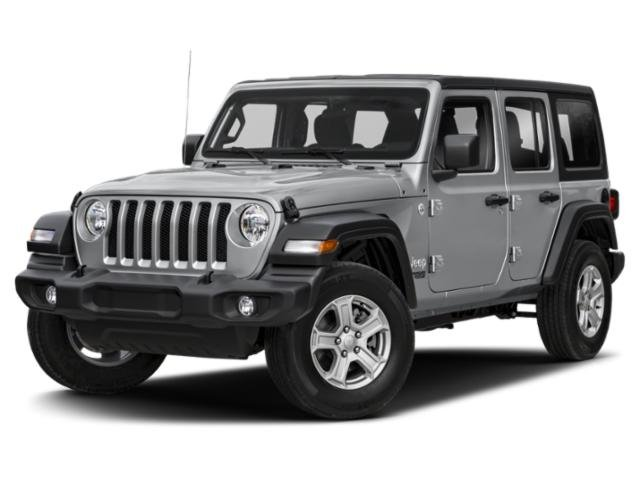 2020 Jeep Wrangler Unlimited Sport Altitude Sport Altitude 4x4 Intercooled Turbo Diesel V-6 3.0 L/182 [8]