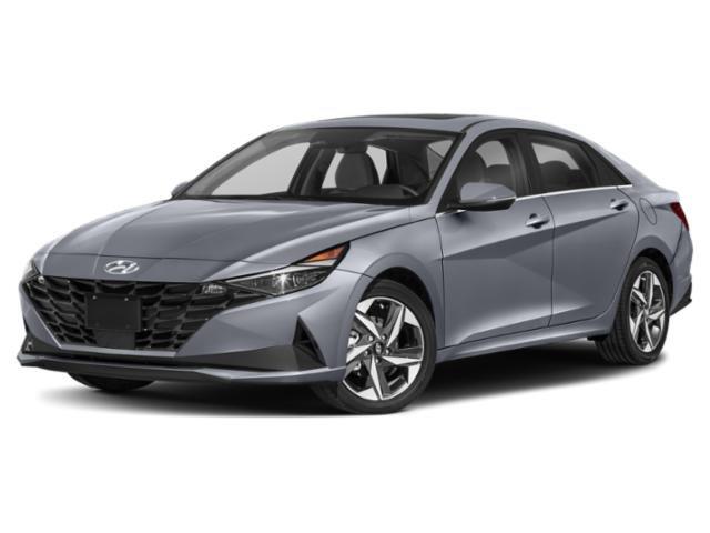 2021 Hyundai Elantra Hybrid Blue Blue DCT Gas/Electric I-4 1.6 L/96 [0]