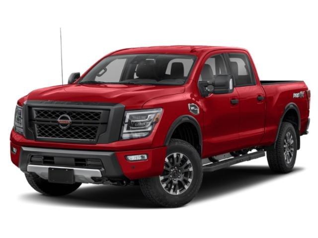 2021 Nissan Titan XD PRO-4X 4x4 Crew Cab PRO-4X Premium Unleaded V-8 5.6 L/339 [0]