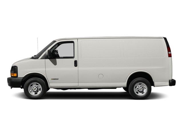 2014 Chevrolet Express Cargo Van Work Van SEATS  FRONT BUCKET WITH CUSTOM CLOTH TRIM  head restrain