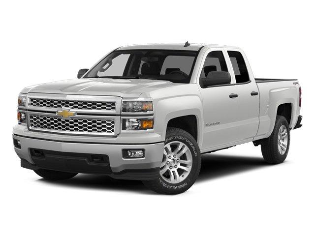 """2014 Chevrolet Silverado 1500 Work Truck 2WD Double Cab 143.5"""" Work Truck w/2WT Gas/Ethanol V6 4.3L/262 [1]"""
