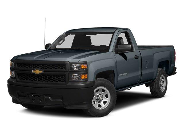 """2014 Chevrolet Silverado 1500 Work Truck 2WD Reg Cab 119.0"""" Work Truck w/1WT Gas/Ethanol V6 4.3L/262 [1]"""