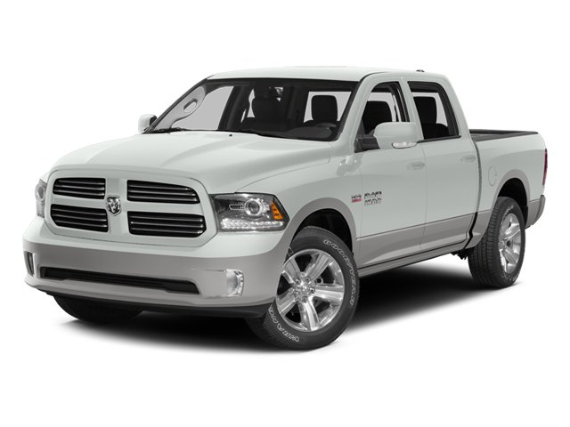 2014 Ram 1500 Laramie 4WD Crew Cab 149″ Laramie Intercooled Turbo Diesel V-6 3.0 L/182 [1]