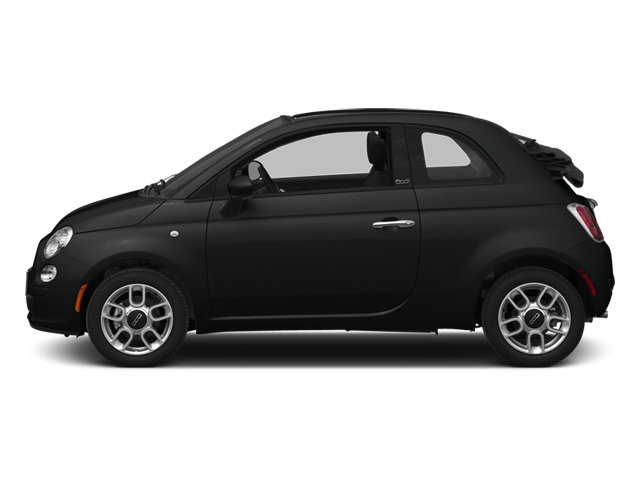 2014 FIAT 500c GQ Edition NERO PURO STRAIGHT BLACK NERO BLACK SEATS BLACK  ALCANTARA LEATHER