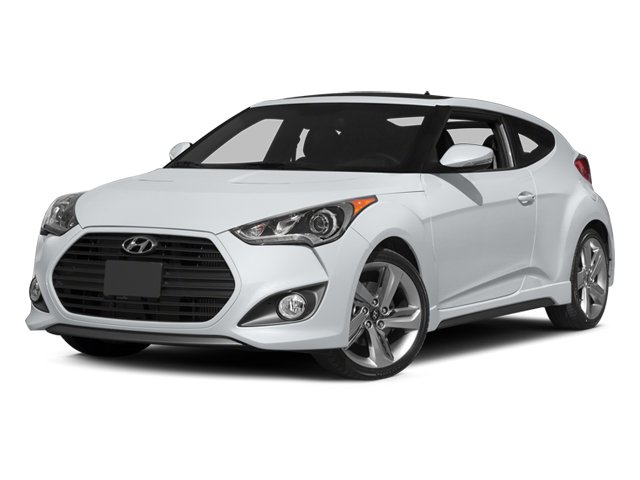 2014 Hyundai Veloster Turbo 3dr Cpe Auto Turbo w/Black Int Intercooled Turbo Regular Unleaded I-4 1.6 L/97 [15]
