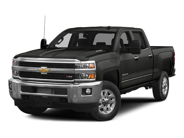 "2015 Chevrolet Silverado 2500HD Built After Aug 14 LTZ 4WD Crew Cab 153.7"" LTZ Turbocharged Diesel V8 6.6L/403 [1]"