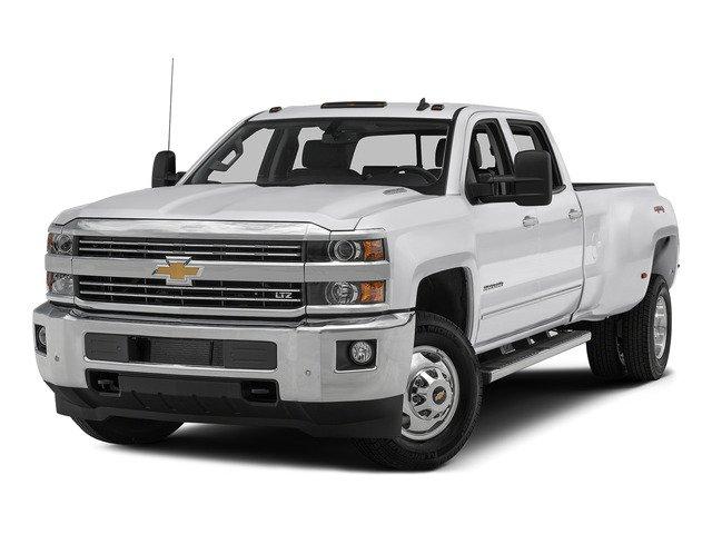 """2015 Chevrolet Silverado 3500HD LTZ 4WD Crew Cab 167.7"""" LTZ Turbocharged Diesel V8 6.6L/403 [37]"""