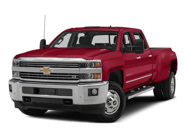 """2015 Chevrolet Silverado 3500HD LTZ 4WD Crew Cab 167.7"""" LTZ Turbocharged Diesel V8 6.6L/403 [35]"""