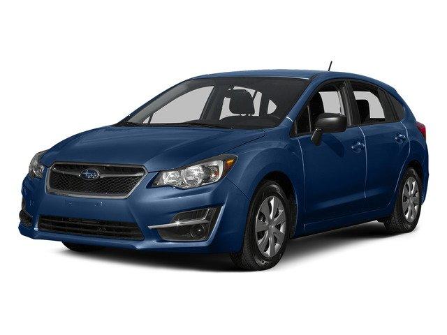 2015 Subaru Impreza Wagon 20i Sport Limited STANDARD MODEL BLACK  LEATHER-TRIMMED UPHOLSTERY QUA