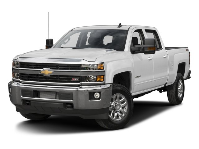 """2016 Chevrolet Silverado 2500HD LT 4WD Crew Cab 167.7"""" LT Turbocharged Diesel V8 6.6L/403 [15]"""