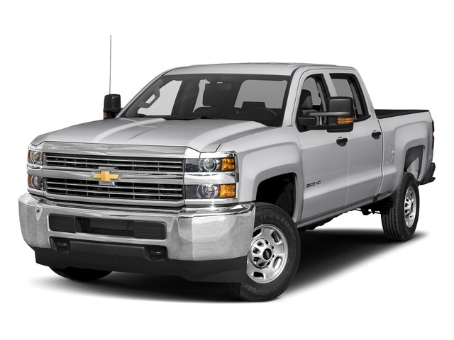 "2017 Chevrolet Silverado 2500HD Work Truck 2WD Crew Cab 167.7"" Work Truck Turbocharged Diesel V8 6.6L/403 [0]"
