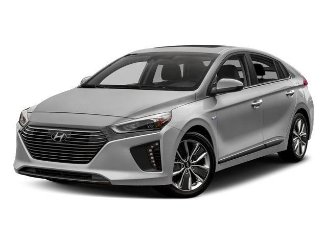 2017 Hyundai Ioniq Hybrid Blue Blue Hatchback Gas/Electric I-4 1.6 L/96 [2]