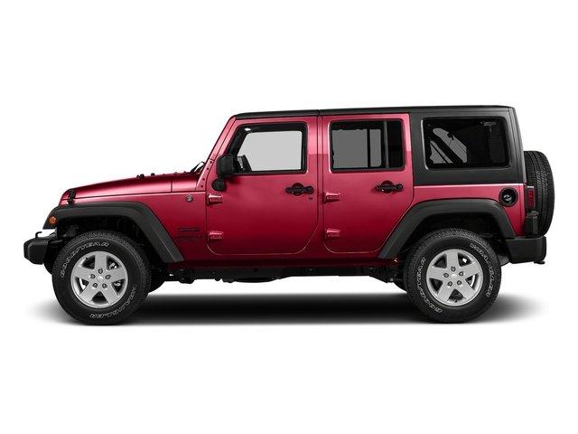 2017 Jeep Wrangler Unlimited Sport TIRES P25575R17 OWL ONOFF ROAD WHEELS 17 X 75 ALUMINUM