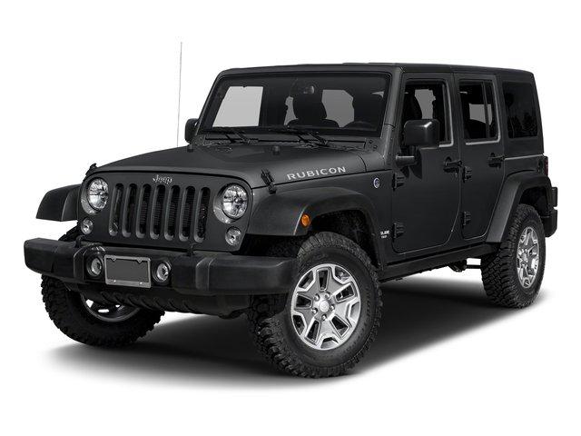 2017 Jeep Wrangler Unlimited Rubicon Rubicon 4x4 Regular Unleaded V-6 3.6 L/220 [6]