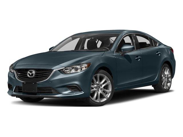 2017 Mazda Mazda6 Touring BLACK  LEATHERETTE SEAT TRIM BLUE REFLEX MICA Front