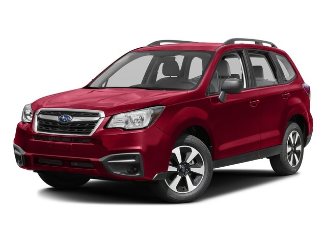 2017 Subaru Forester 25i GRAY  CLOTH UPHOLSTERY ALLOY WHEEL PACKAGE  -inc drivers and front pas