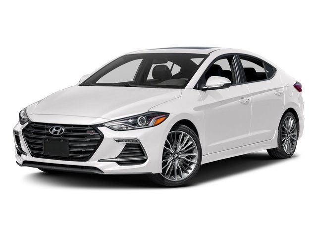 2018 Hyundai Elantra Sport Sport 1.6T Auto (Ulsan) Intercooled Turbo Regular Unleaded I-4 1.6 L/97 [0]