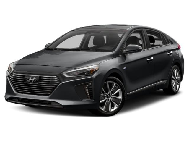 2018 Hyundai Ioniq Hybrid Blue Blue Hatchback Gas/Electric I-4 1.6 L/96 [0]