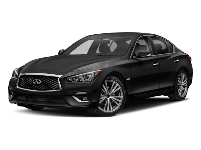 2018 INFINITI Q50 Hybrid LUXE Hybrid LUXE RWD Gas/Electric V-6 3.5 L/213 [13]