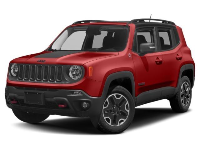 2018 Jeep Renegade Trailhawk Trailhawk 4x4 Regular Unleaded I-4 2.4 L/144 [4]