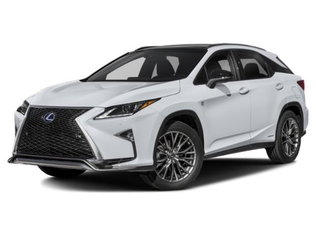 2018 Lexus RX RX 450h F Sport RX 450h F Sport AWD Gas/Electric V-6 3.5 L/211 [28]