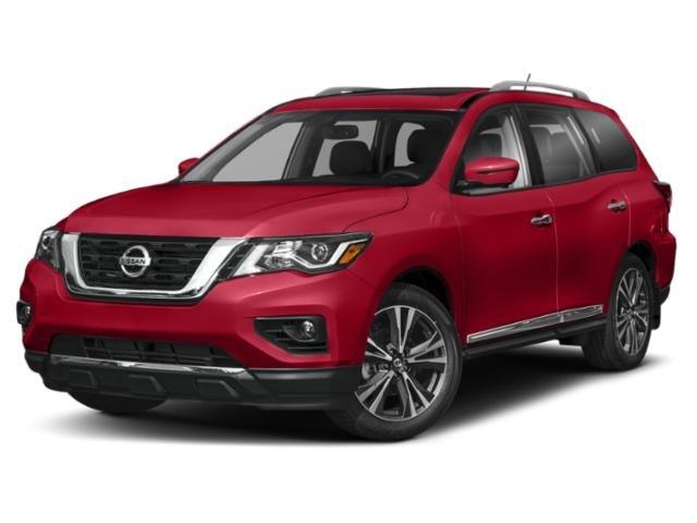 2018 Nissan Pathfinder Platinum FWD Platinum Regular Unleaded V-6 3.5 L/213 [7]
