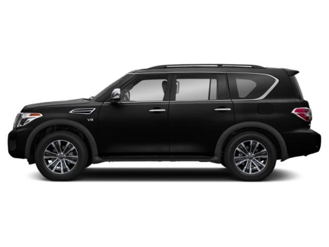 2018 Nissan Armada SL CHARCOAL  LEATHER-APPOINTED SEAT TRIM Z66 ACTIVATION DISCLAIMER SUPER BLA