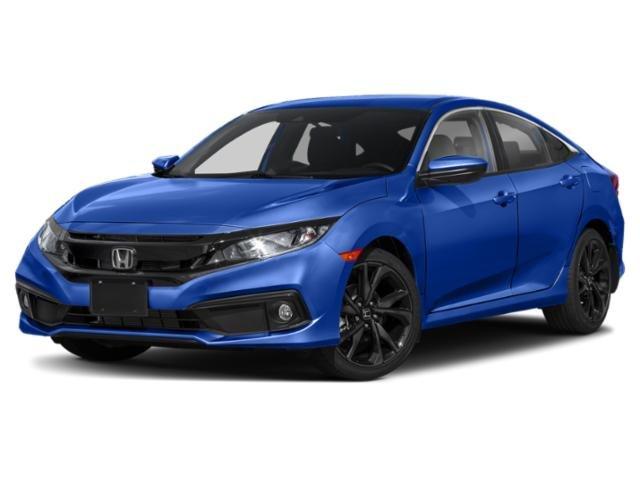 2019 Honda Civic Sedan Sport Sport CVT Regular Unleaded I-4 2.0 L/122 [0]