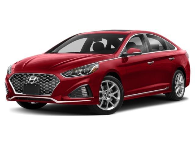 2019 Hyundai Sonata Sport MUD GUARDS REAR BUMPER APPLIQUE CARPETED FLOOR MATS SCARLET RED BLACK