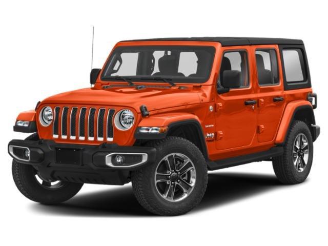 2019 Jeep Wrangler Unlimited Sahara Sahara 4x4 Regular Unleaded V-6 3.6 L/220 [5]