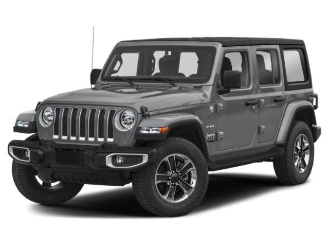 2019 Jeep Wrangler Unlimited Sahara Sahara 4x4 Intercooled Turbo Gas/Electric I-4 2.0 L/122 [8]