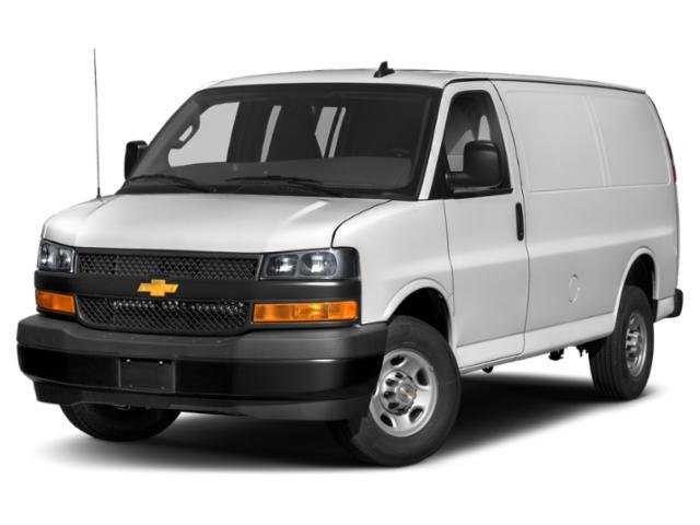 "2020 Chevrolet Express Cargo Van Work Van RWD 3500 155"" Gas/Ethanol V8 6.0L/364 [18]"