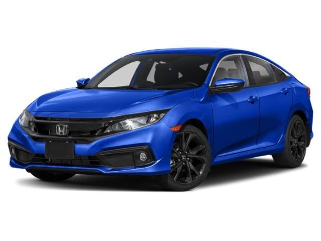 2020 Honda Civic Sedan Sport Sport CVT Regular Unleaded I-4 2.0 L/122 [19]
