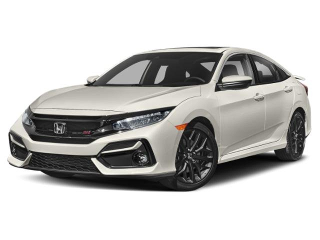 2020 Honda Civic Si Sedan SI Manual Intercooled Turbo Premium Unleaded I-4 1.5 L/91 [1]