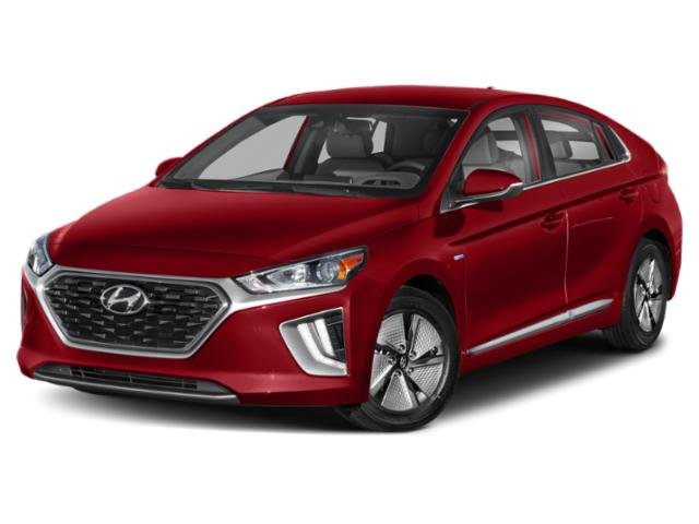 2020 Hyundai Ioniq Hybrid Blue Blue Hatchback Gas/Electric I-4 1.6 L/96 [3]