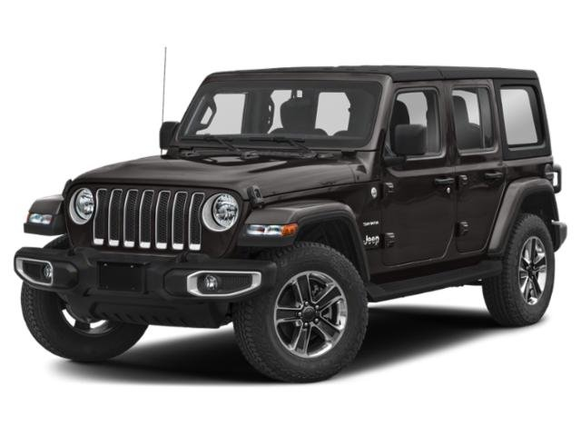 2020 Jeep Wrangler Unlimited Sahara Sahara 4x4 Intercooled Turbo Gas/Electric I-4 2.0 L/122 [10]