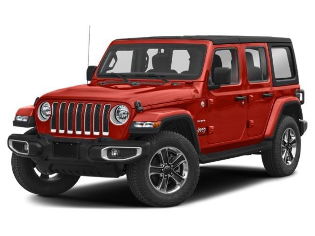 2020 Jeep Wrangler Unlimited Sahara Sahara 4x4 Intercooled Turbo Gas/Electric I-4 2.0 L/122 [14]