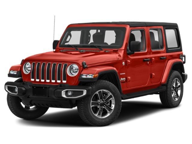 2020 Jeep Wrangler Unlimited Sahara Sahara 4x4 Intercooled Turbo Premium Unleaded I-4 2.0 L/122 [25]