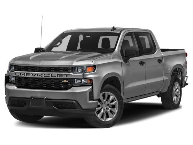 """2021 Chevrolet Silverado 1500 Custom 4WD Crew Cab 147"""" Custom Turbocharged Gas I4 2.7L/166 [1]"""