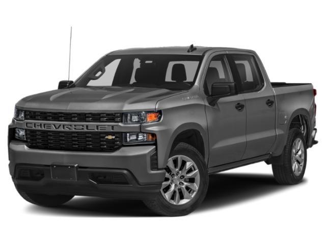 """2021 Chevrolet Silverado 1500 Custom 4WD Crew Cab 147"""" Custom Turbocharged Gas I4 2.7L/166 [2]"""