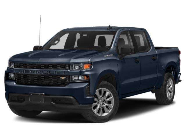 """2021 Chevrolet Silverado 1500 Custom 4WD Crew Cab 147"""" Custom Turbocharged Gas I4 2.7L/166 [3]"""