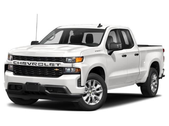 """2021 Chevrolet Silverado 1500 Custom 4WD Crew Cab 147"""" Custom Turbocharged Gas I4 2.7L/166 [19]"""