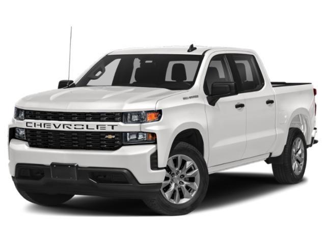 """2021 Chevrolet Silverado 1500 Custom 2WD Crew Cab 147"""" Custom Turbocharged Gas I4 2.7L/166 [10]"""