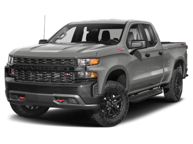 """2021 Chevrolet Silverado 1500 Custom 2WD Double Cab 147"""" Custom Turbocharged Gas I4 2.7L/166 [2]"""