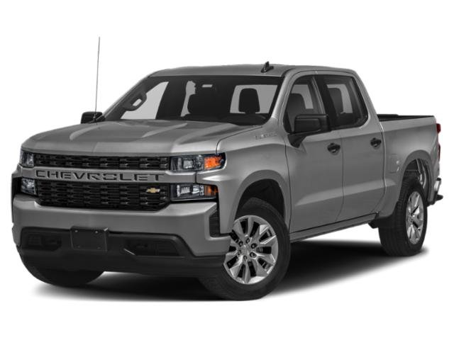 "2021 Chevrolet Silverado 1500 Custom 4WD Crew Cab 147"" Custom Turbocharged Gas I4 2.7L/166 [8]"
